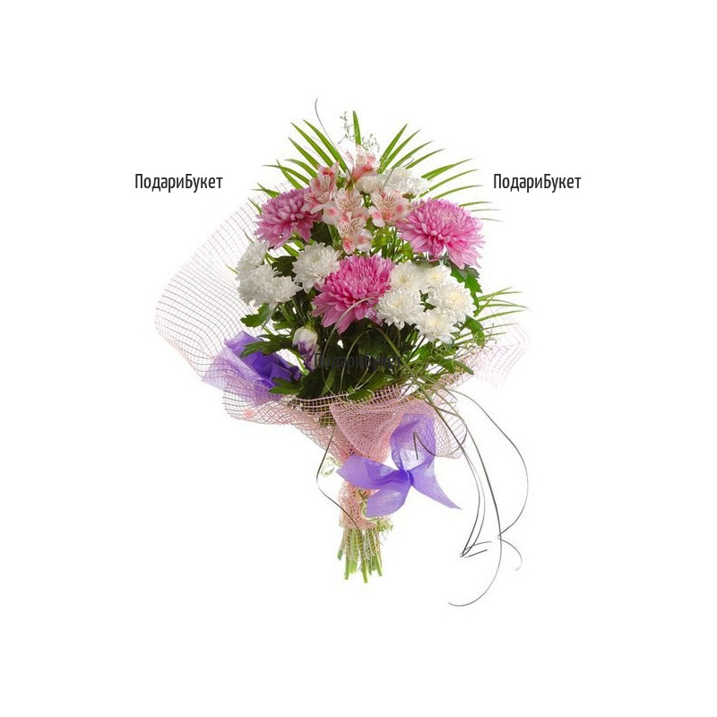 Send flowers and bouquets by courier.