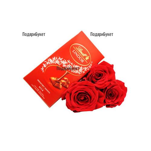 Доставка на рози и подаръци в Бургас