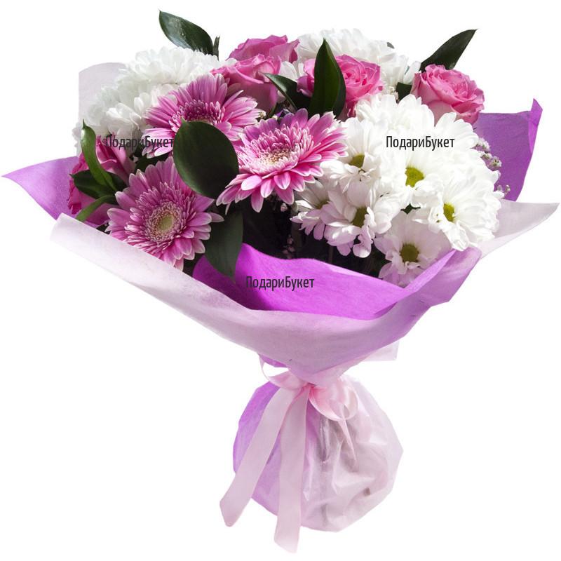 Send flowers in pink hues to Sofia, Plovdiv, Varna, Burgas