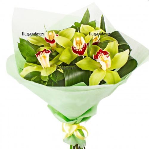 Доставка на цветя и букети от орхидеи в София, Пловдив, Варна и Бургас