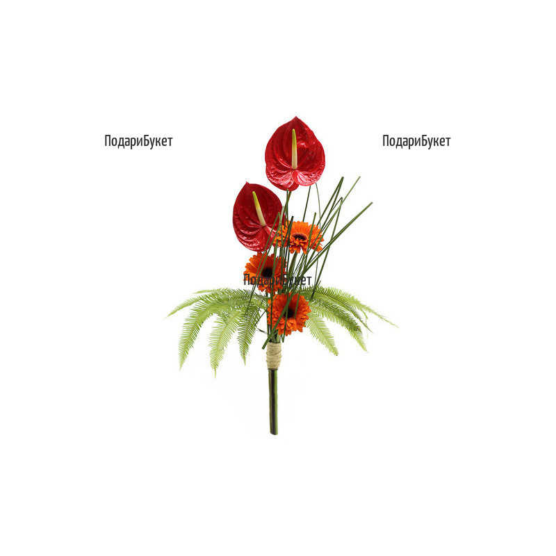 Order flowers online - bouquets for men