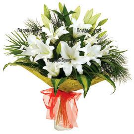 Доставка на букет от цветя