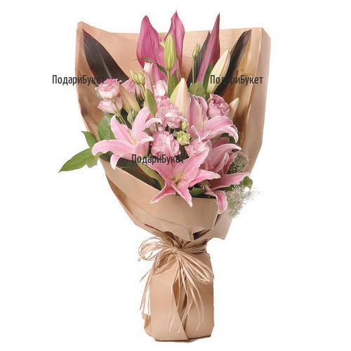 Онлайн поръчка на цветя за София, Варна, Бургас, Пловдив, Русе