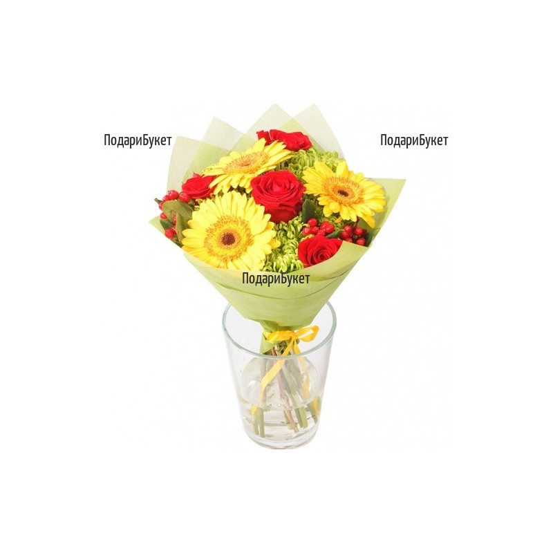 Flower delivery - a bouquet for Birthday to Sofia, Plovdiv, Ruse