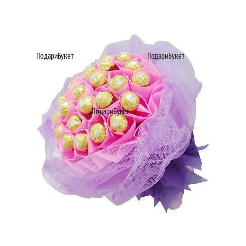Send classic chocolate bouquet to Sofia