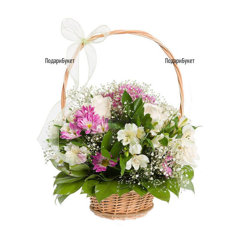 Flower basket - Spring sigh