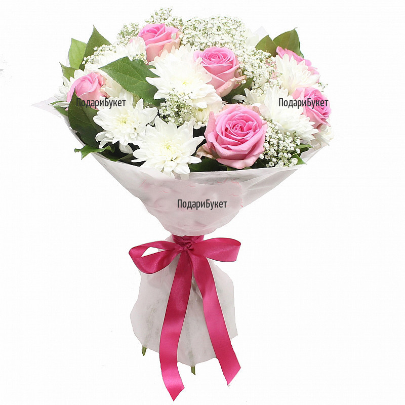 Доставка на букет от цветя Доброта