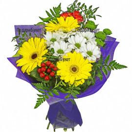 Доставка на букет от цветя Артист до адрес