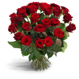 Send bouquet of red roses to Sofia, Plovdiv, Varna, Burgas
