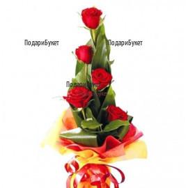 Онлайн поръчка на цветя и букети от рози