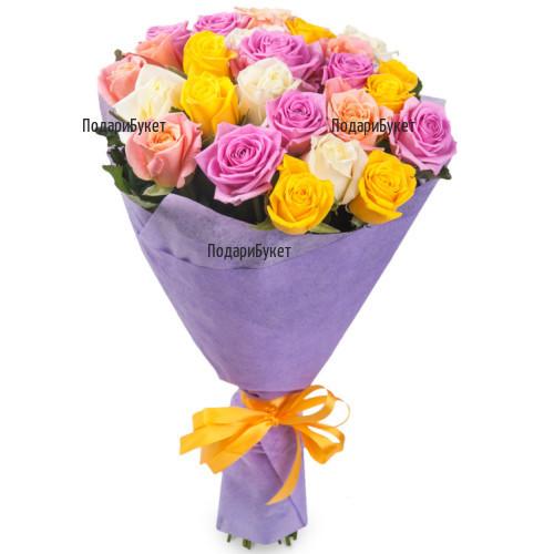 Доставка на рози по избор на клиента