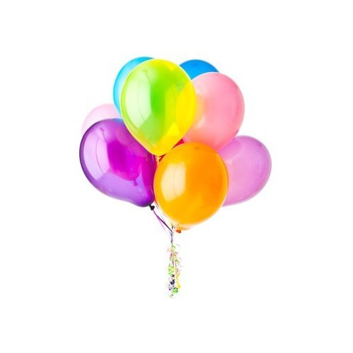 Order and delivery of 9 helium balloons to Sofia.