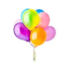 Поръчка и доставка на 9 балона с хелий
